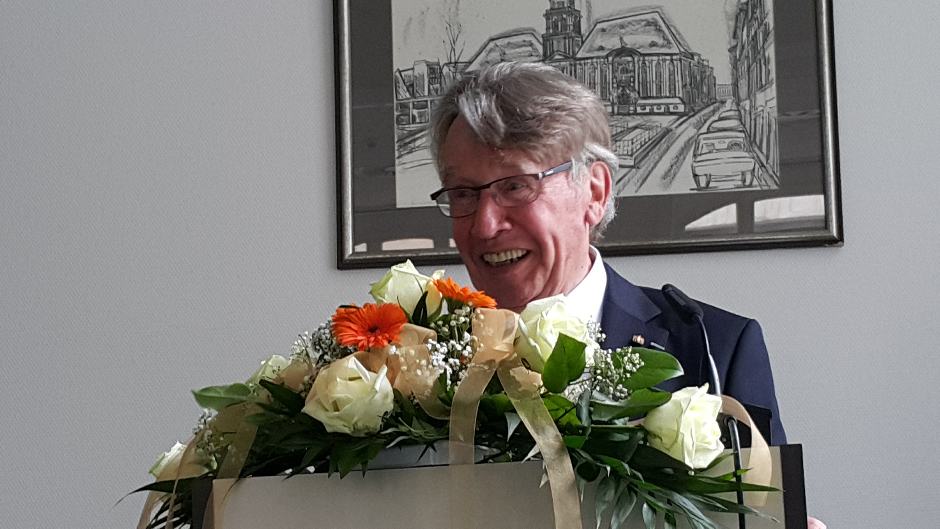 Celebration of Prof. Dr. Gerhard Stickel's 80th birthday at IDS