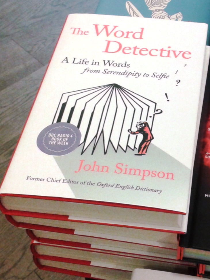 John Simpson's book, The Word Detective is chosen for the Book of the Week of BBC Radio 4